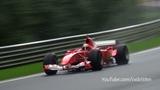 Ferrari F1 V8 & V10 - Close Call Fly Bys! SUPER Sounds!