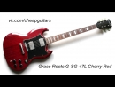Grass Roots G-SG-47L Cherry Red