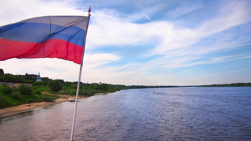 Теплоход Александр Свирский в Муроме - 17 июня 2018/The motor ship Alexander Svirsky in Murom