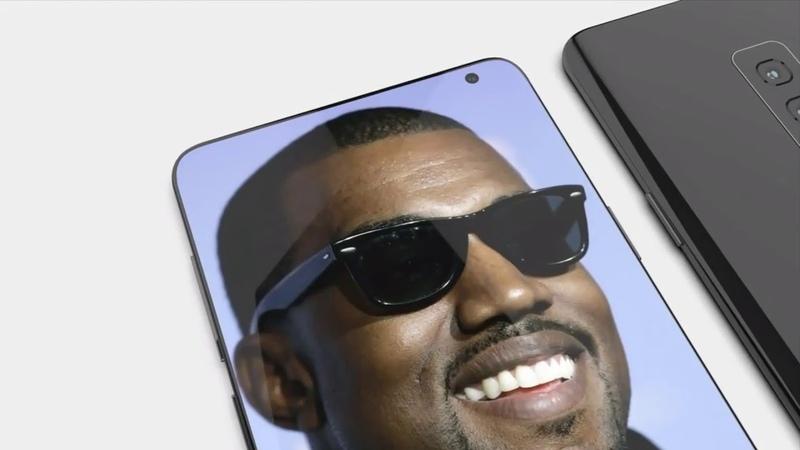 Концепт Samsung Galaxy S10 без 3.5 аудиоразъема