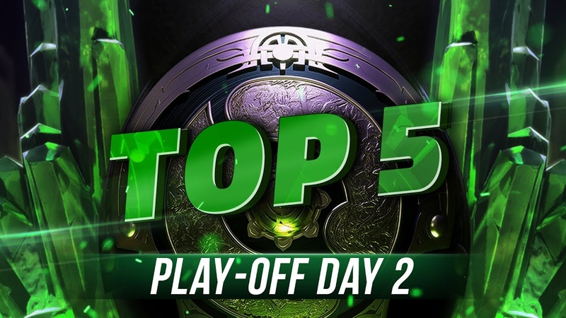 TOP5 Highlights TI8 Play-off - Day 2