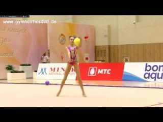 Дарья Трубникова - мяч (командное многоборье) // Международный турнир 2018, Минск