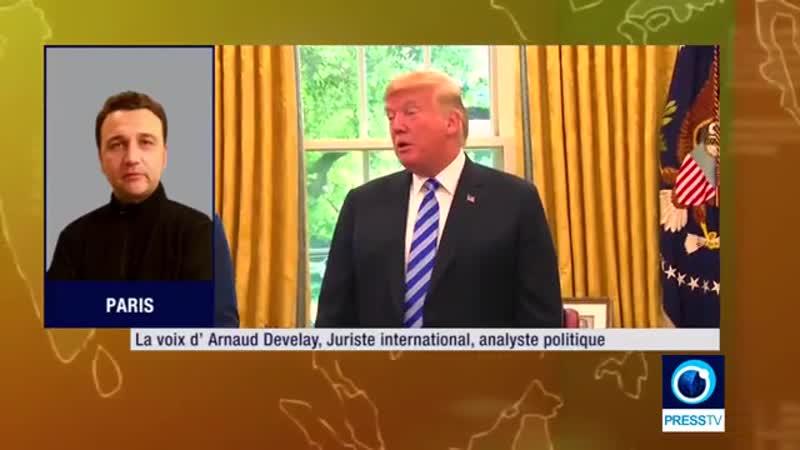 Arnaud Develay : Les USA ne se cachent plus dêtre un Etat voyoux ! (1min21s)