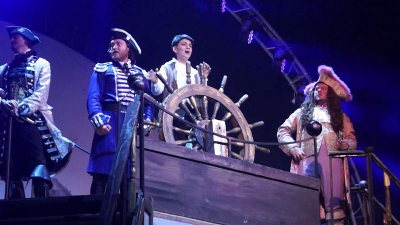 Treasure Island musical Песня о свободе и другие Саша Савинов Остров сокровищ