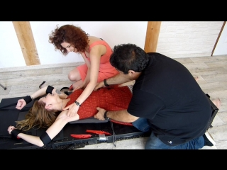 French Sexy Apolline Tickled 2 hours