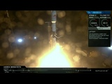 Launch &amp Landing of SpaceX Falcon 9 with Telkom 4 Merah Putih