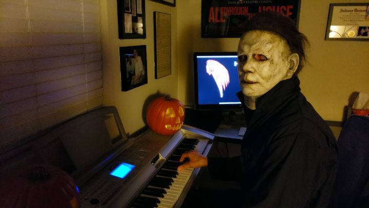 """Lito on Instagram """"See the complete video at www.Facebook.comTheShapeOfFear Months ago I was lined up to score a documentary about Halloween.…"""""""