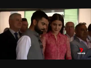 Визит к премьер-министру австралии. anushka sharma | virat kohli
