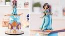DISNEY PRINCESS JASMINE - Aladdin Cake - Tan Dulce
