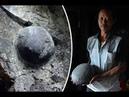 Каменная форма жизни? Каждые 30 лет из горы выходят круглые камни.