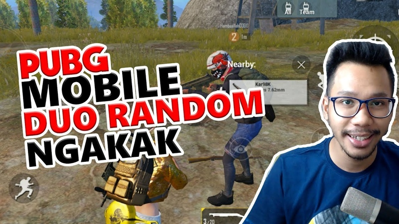 DUO RANDOM NGAKAK - PUBG MOBILE INDONESIA