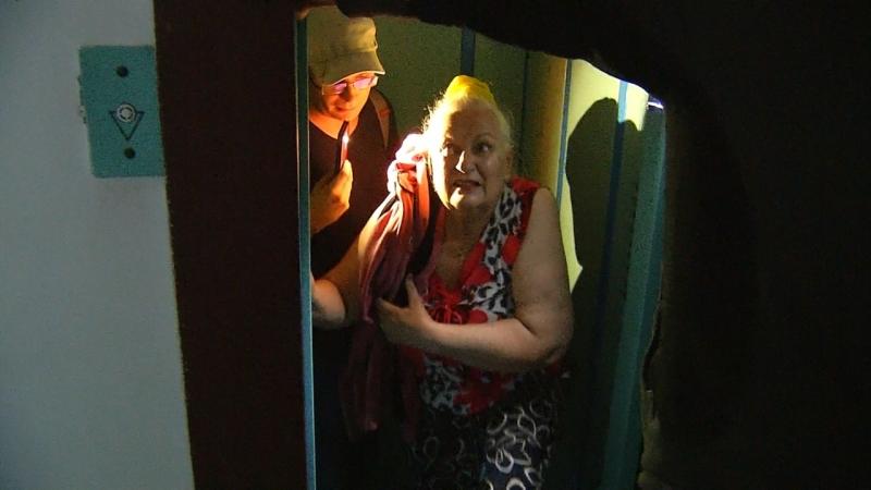 Застряли в лифте во время урагана