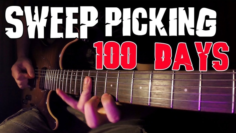 100 Days of Sweep Picking Practice