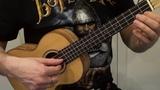 Jingle bells урок на укулеле припев учимся играть мелодию простой вариант