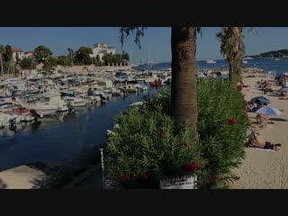 пляж болье-сюр-мер( 8 км от Ниццы)