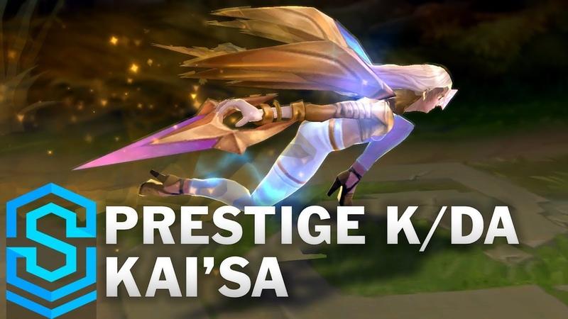 Prestige KDA KaiSa Skin Spotlight - Pre-Release - League of Legends