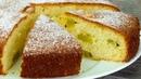 Вы влюбитесь навсегда в этот вкусный и простой в приготовлении бисквит с фруктами. |
