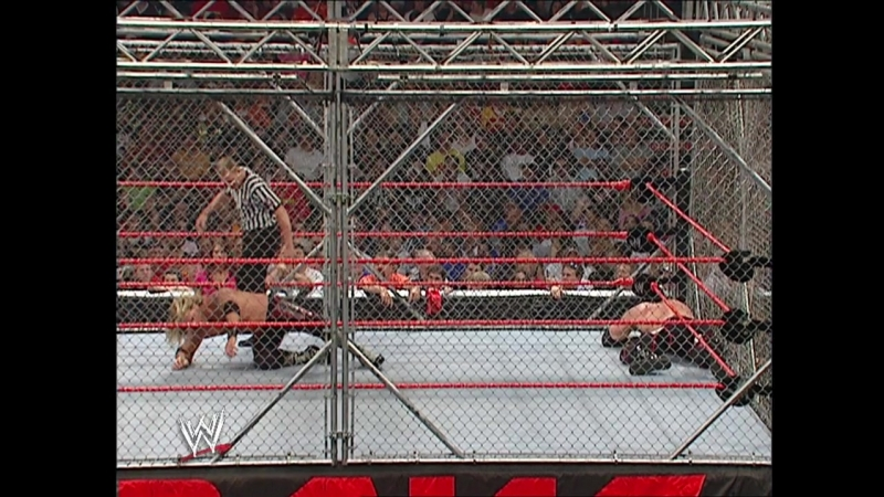 Edge Vs Kane - Steel Cage Match - RAW 18.07.2005
