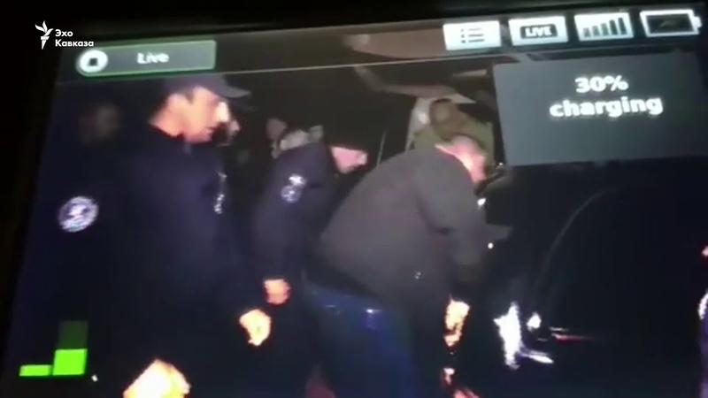 Как передавали тело Арчила Татунашвили