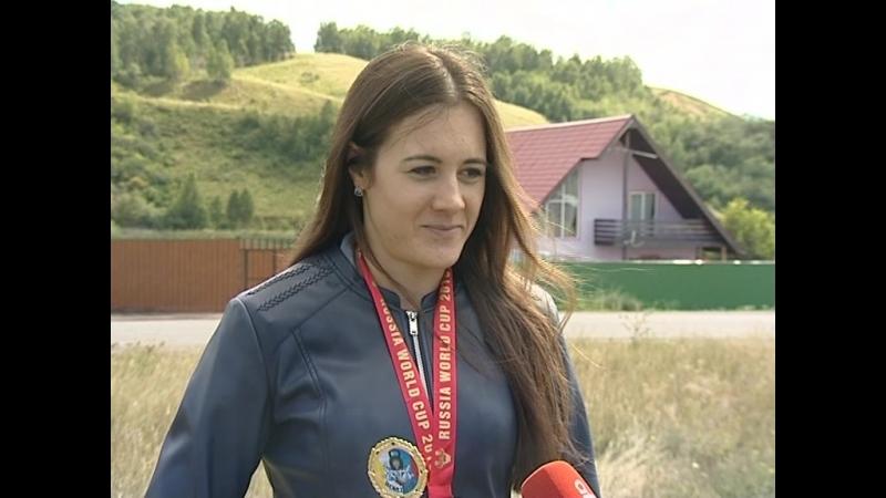 Чемпионка этапа кубка мира по гиревому спорту работает в ГУФСИН