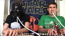 Двое талантливых ребята исполняют саундтреки Звездные войны с помощью мелодики