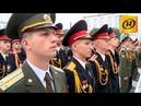 Суворовцам вручают погоны