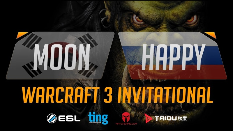 WC3 - Moon vs. Happy - Ting Warcraft Invitational - Group B - Lower Bracket Final