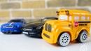Speedy e Bussy. Mercedes SLS. Carros de carrera.