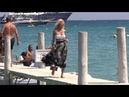 EXCLUSIVE Victoria Silvstedt at Club 55 in Saint Tropez