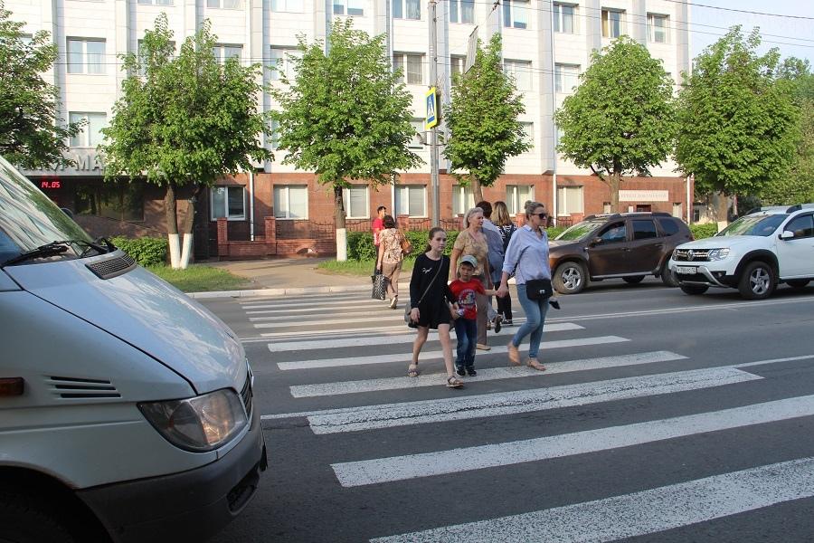 Пешеходы и водители Марий Эл: при взаимодействии друг с другом ПДД нарушают и те, и другие