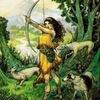 Рисуночный интенсив  «Артемида — Амазонка»