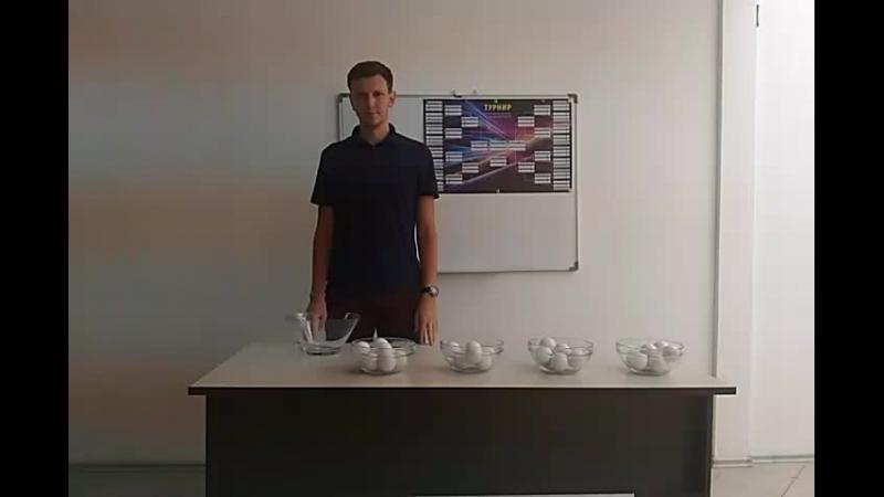 Жеребьевка турнира по мини-футболу памяти Алексея Потапова