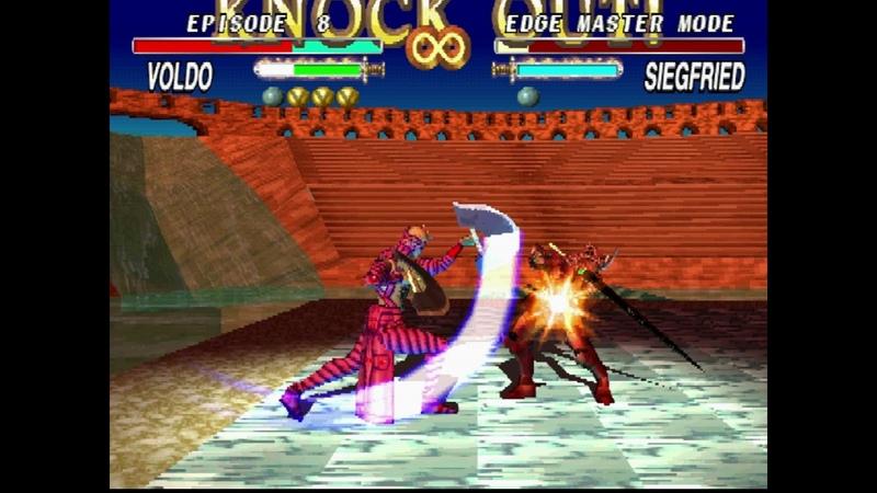 Retro Fun Soul Edge Sould Blade Voldo Edge Master Full Story