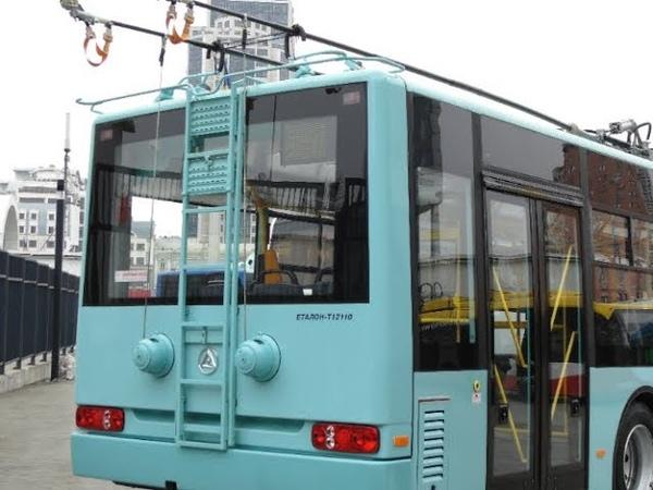 Черниговский гость Обзор троллейбуса Эталон Т12110 Барвинок