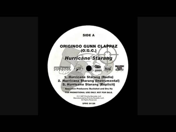 O.G.C. - Hurricane Starang (Instrumental)