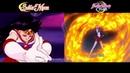 Crystal vs Original Introduction of Sailor Mars