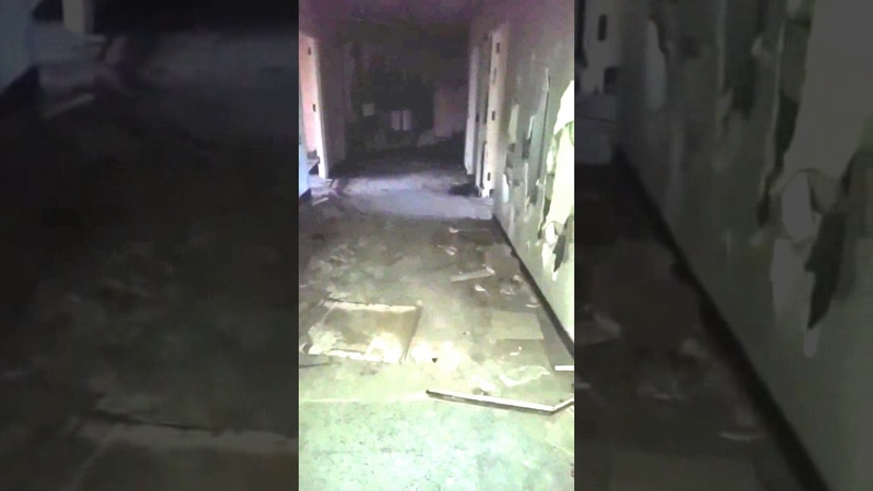 ABANDONED San Haven Sanitorium -Very loud EVP at15 secs...they found me