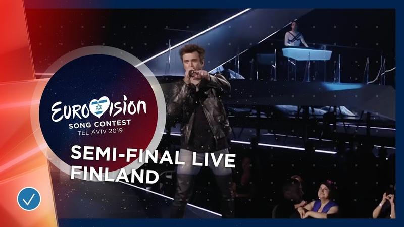 Finland LIVE Darude feat Sebastian Rejman Look Away First Semi Final Eurovision 2019