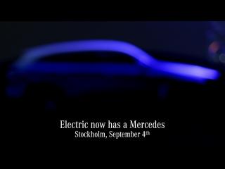 Первый электрокар Mercedes-Benz под новым брендом EQ.