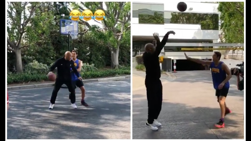 LaVar Ball finally takes a guy one on one, just like he would Michael Jordan