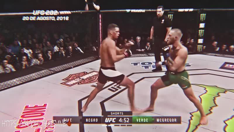 That's vine! UFC: Conor McGregor vs Diaz. Kill