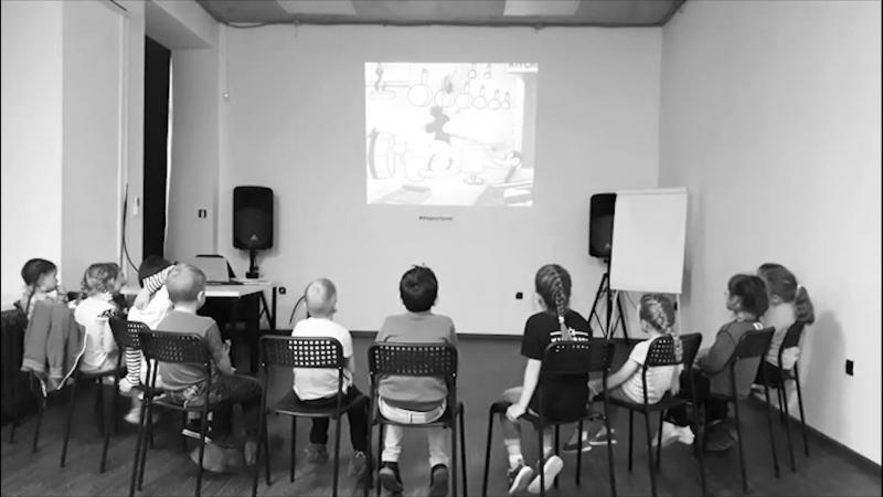 Изучаем звук в анимации в киношколе Kinobaby