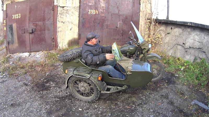 Обзор установки удлиненной люльки на мотоцикл Урал