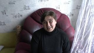 Помощь жительницы Израиля инвалиду в Донецке