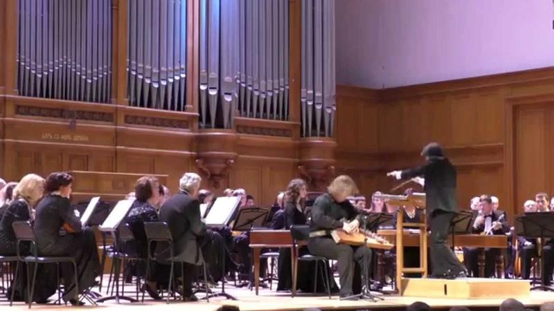 A.Vivaldi La primavera (Весна) I. Allegro - Павел Лукоянов (гусли звончатые)