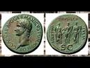 Сестерций, 37 н.э. - 38 н.э., Монеты Цезаря Калигулы, Sestertius, 37 AD - 38 AD