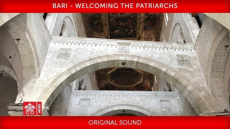 сатанист Франциск возжёг лампаду экуменизма в Бари один за всех