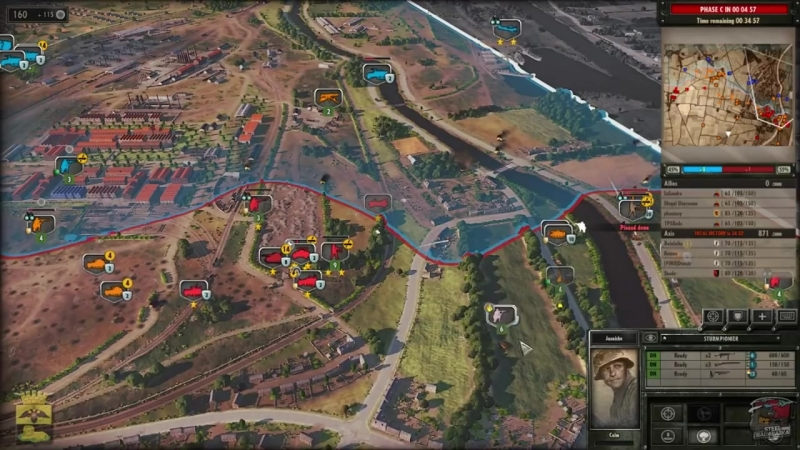 Dnestr Strateg Steel Division Normandy 44 Операция Потерянный город
