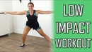 20 Minute Low Impact Total Body Cardio Workout at home No Repeating Exercises