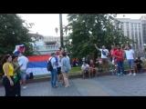 Чемпионат Мира по футболу fifa 2018 Красная площадь Фанаты
